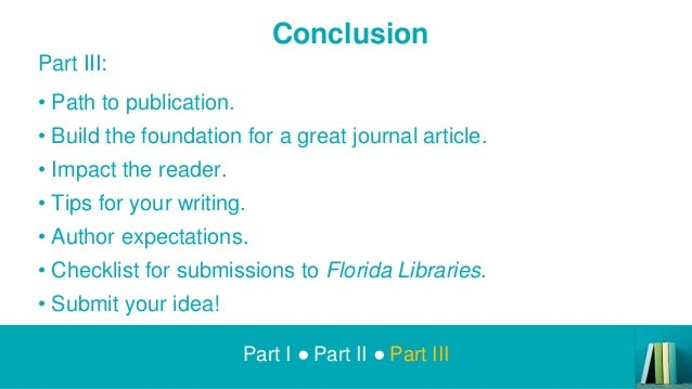 Idea And Expectations Part Ii >> Get Published Presentation