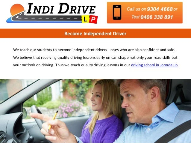 get quality driving lessons from driving school in joondalup rh slideshare net Driving Lessons Offers Driving Lessons Packages