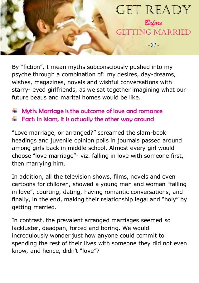 comparison contrast arrange marriage and love marriage