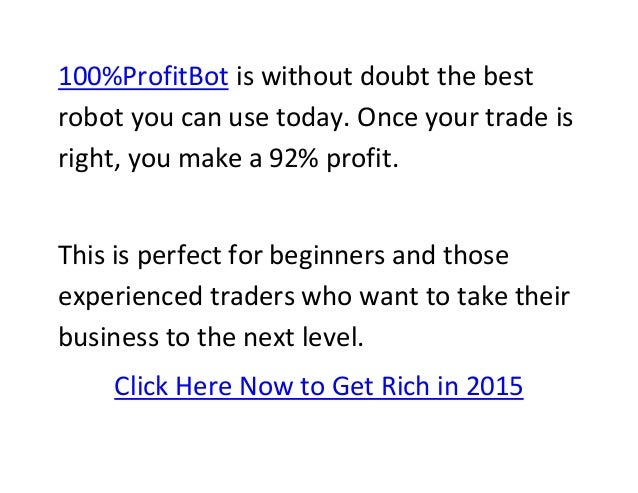 Getting rich with binary options