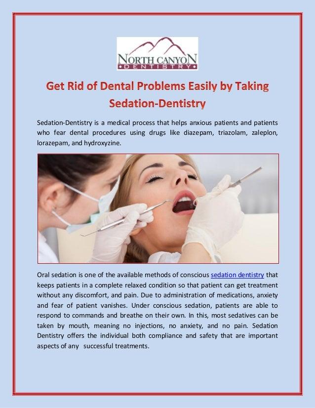 when to take valium before dentist