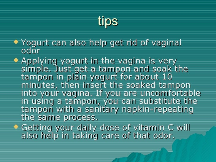 3. Tips Yogurt Can Also Help Get Rid ...