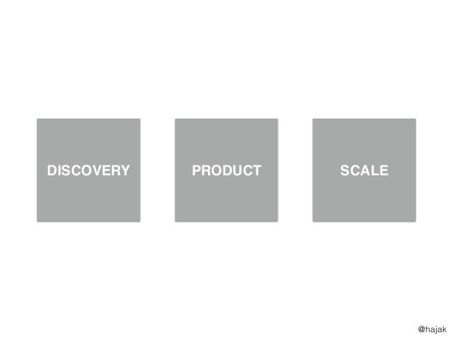 DISCOVERY PRODUCT SCALE @hajak
