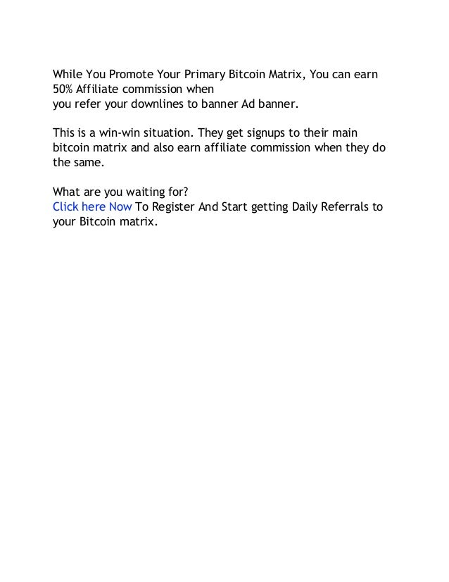 How to get daily referrals fast for bitcoin matrix or other mlm with 6 ccuart Image collections