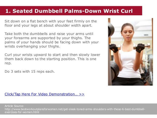 Get Sleek, Toned Arms & Shoulders With These 6 Best Dumbbell Exercise…