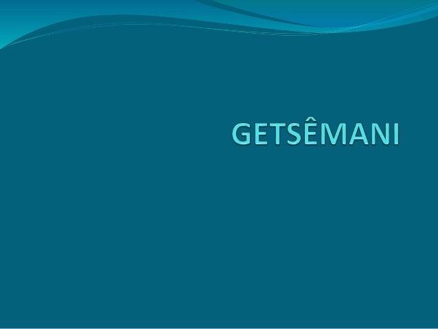 No Getsêmani foi que meu Jesus orou, Se entregando ao Pai mais uma vez. Logo vieram pessoas para o levar, para a maior das...