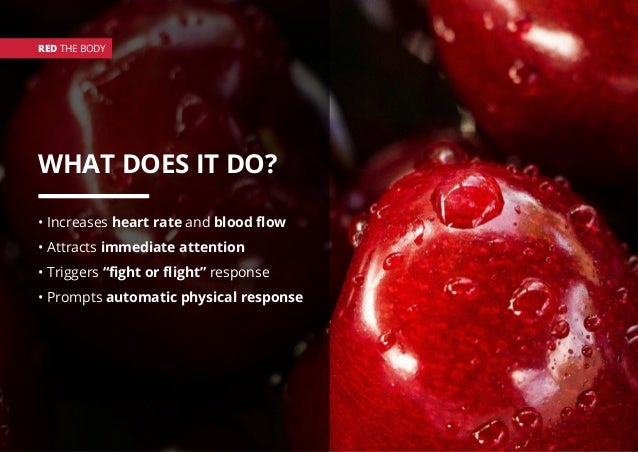 """WHAT DOES IT DO? • Increases heart rate and blood flow • Attracts immediate attention • Triggers """"fight or flight"""" respons..."""