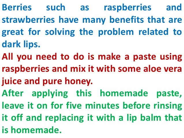 Get soft pink lips with natural home remedies