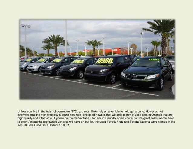 Biggest Used Car Dealer In Orlando Toyota RAV Best Car For College - Car show orlando classic weekend