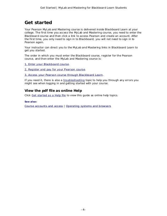 Blackboard Learn | Information Technology | Kent State ...