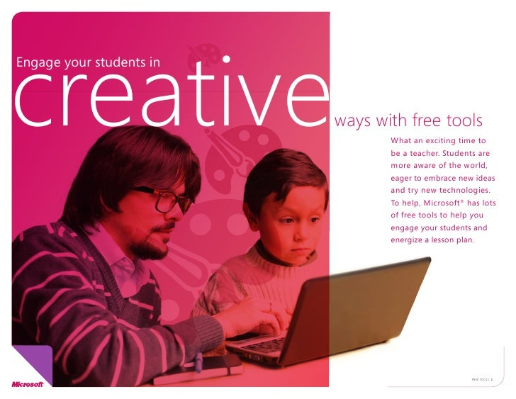 creative Engage your students in                              ways with free tools                                  What a...