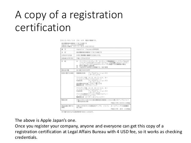 how to register a company in japan