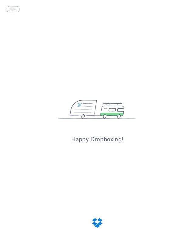 Happy Dropboxing! home