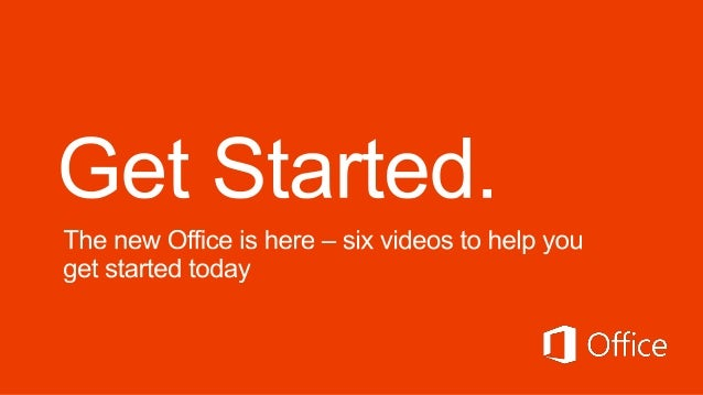 Get the most out of your Office subscriptionLearn more at www.office.com