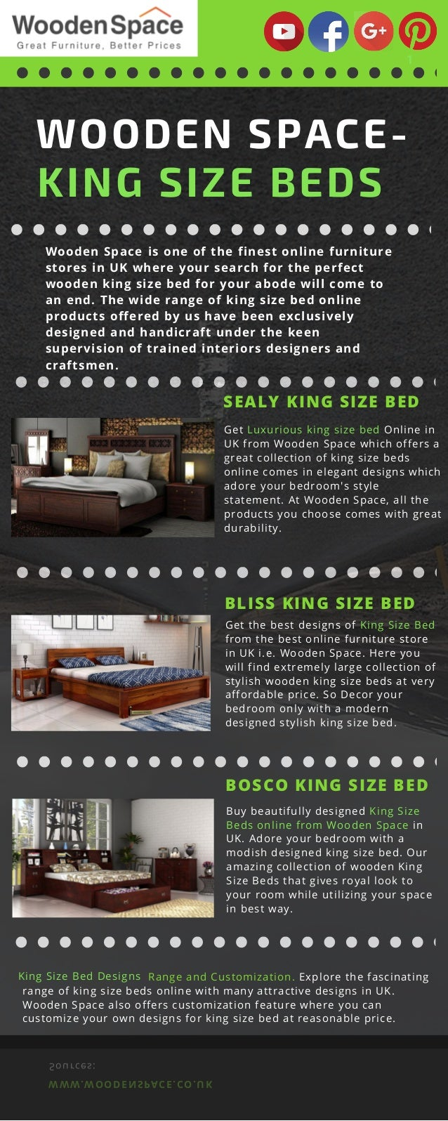 Picture of: Get Stylish King Size Bed Designs Online In Uk