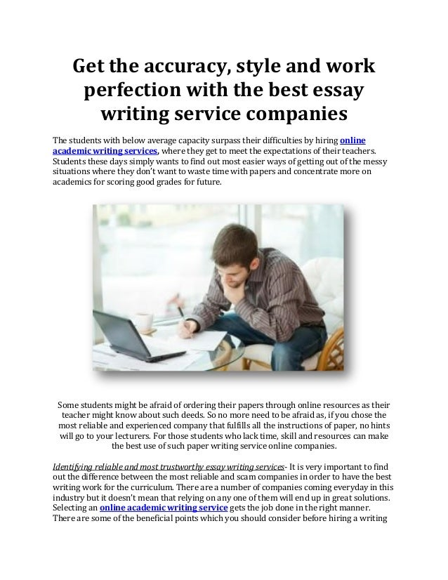 Best paper writing service