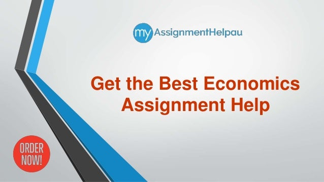 The best economics assignment help service, provided by subject matter experts.