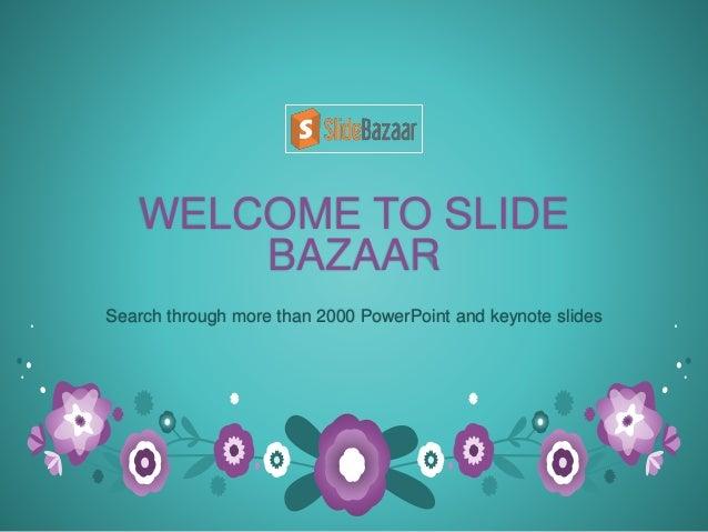 get the best free keynote templates with slidebazaar