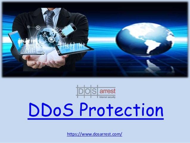 DDoS Protection https://www.dosarrest.com/