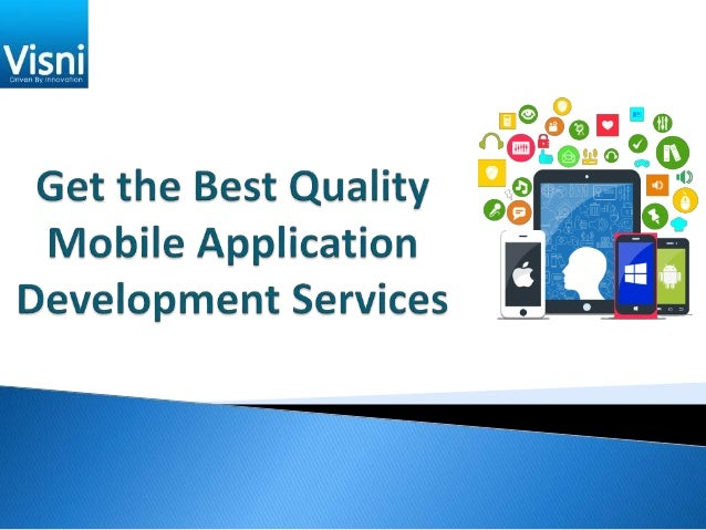 Visni is a leading mobile app development company that brings you multiple ways to make your app better by integrating sev...
