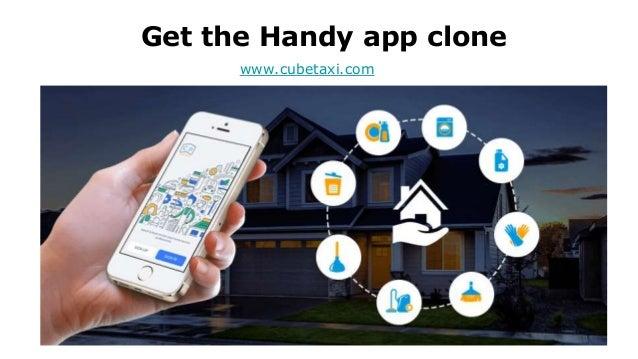 Get the Handy app clone www.cubetaxi.com