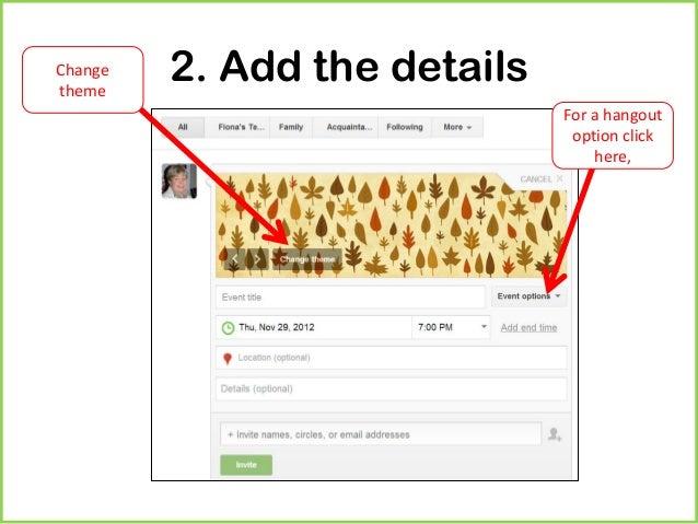 Send Google Hangout Invite for perfect invitations design