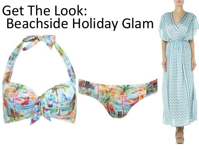 Get The Look: Beachside Holiday Glam