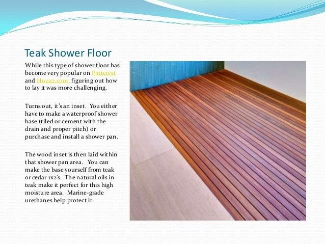 Get the look teal tile shower