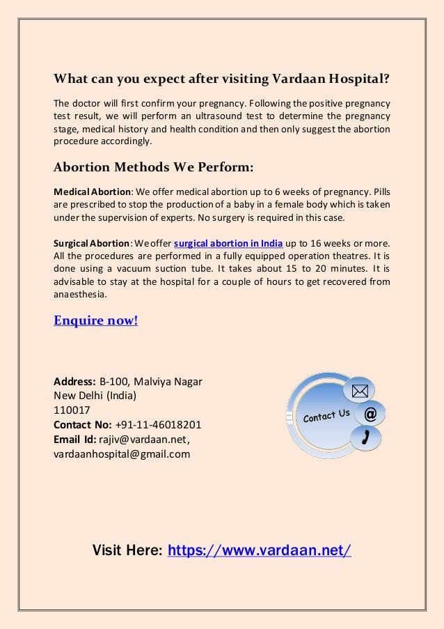 Get the Safest and Affordable Medical and Surgical Abortion