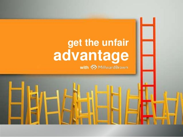 get the unfair 1 advantage with