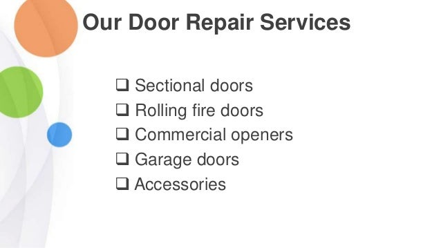 Get The World Class Overhead Door Repair Services In Tustin