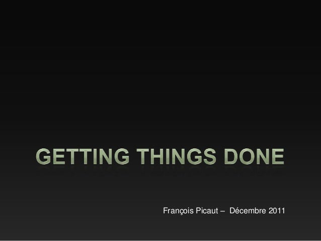 François Picaut – Décembre 2011