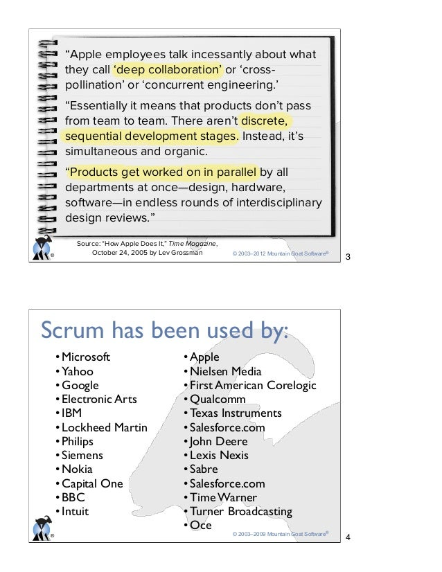 Getting Agile with Srum Slide 2