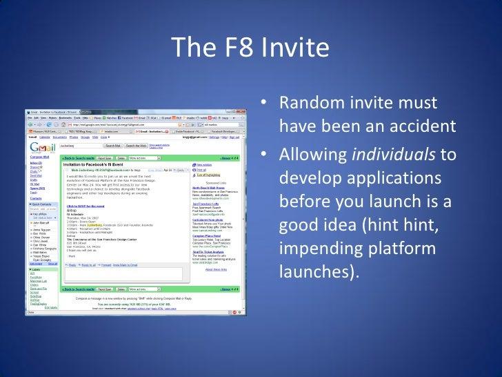 Getting love from the Facebook Platform Slide 3