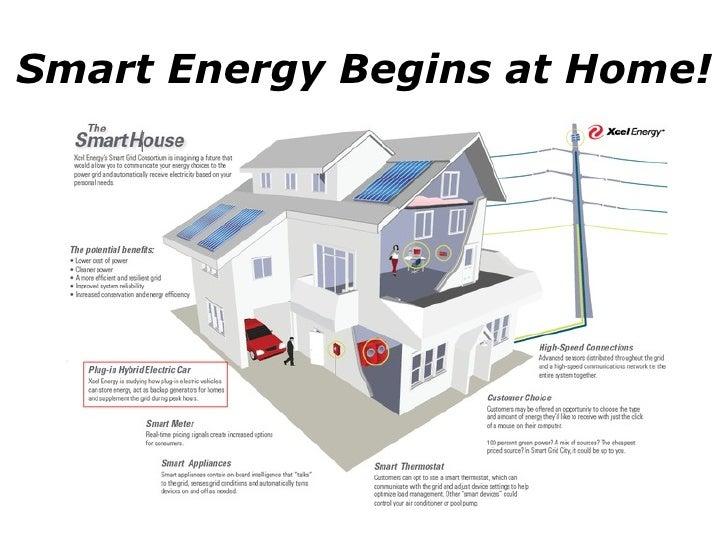 Smart Energy Begins at Home!