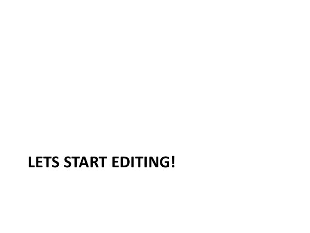 """Step 2 – Turn on """"Visual Editor"""" 1. Click the Preferences link at the top of the page 2. Visit the Editing tab, scroll dow..."""
