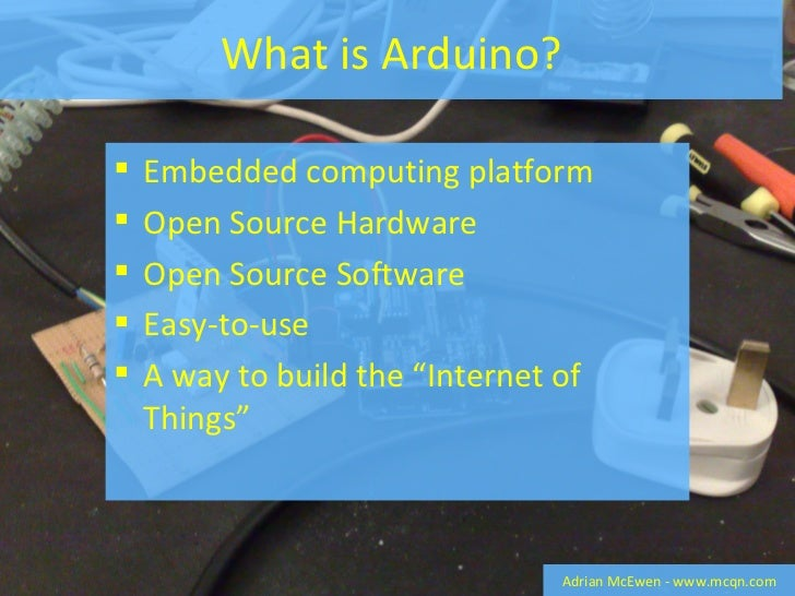 Getting Started With Arduino   How To Build A Twitter Monitoring Alertuino Slide 2