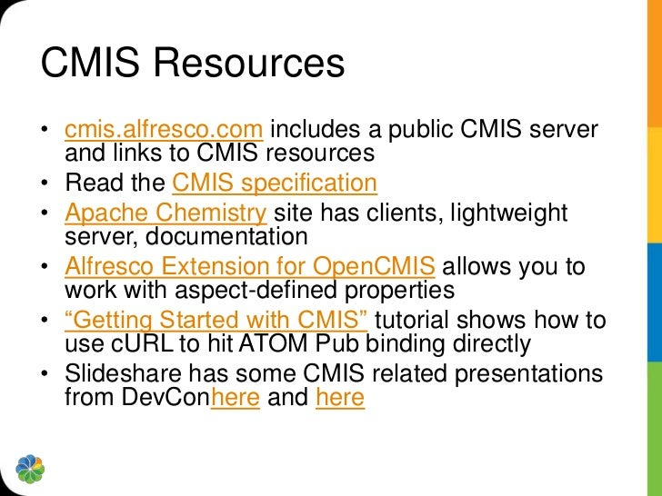 Getting Started with CMIS