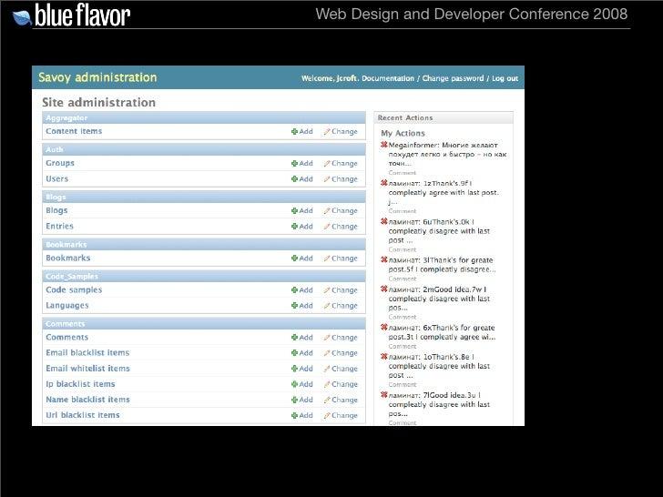 Web Design and Developer Conference 2008