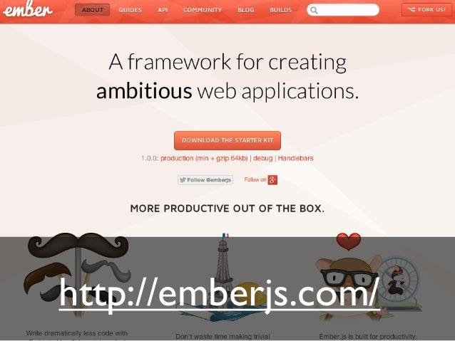 Ember.js 1.0 released!