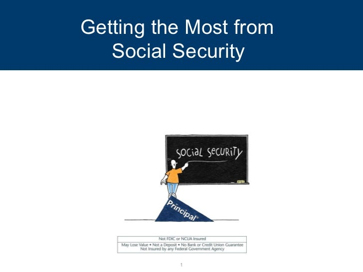 Getting the Most from  Social Security