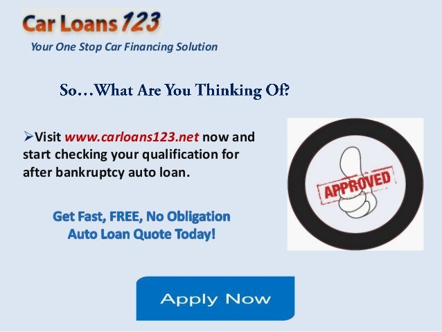 Best Place To Get Car Loan After Bankruptcy