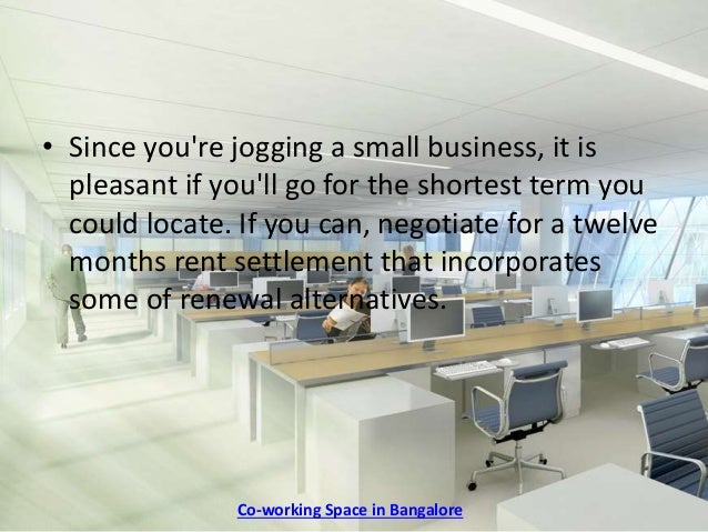 Getting A Good Deal On Your Shared Office Space Lease