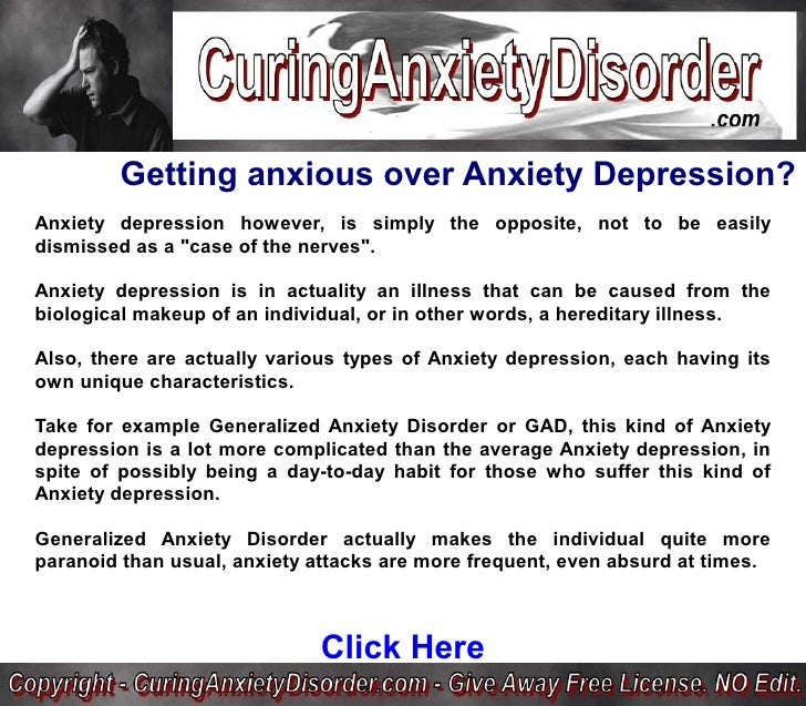 an examination of the mental status of people with generalized anxiety disorder Expert reviewed how to spot the difference between normal anxiety and anxiety disorder three methods: identifying the differences between normal anxiety and an anxiety disorder recognizing the symptoms of an anxiety disorder determining if you have an anxiety disorder community q&a everyone feels anxiety sometimes you may feel anxiety before a job interview, before an exam, or after an.