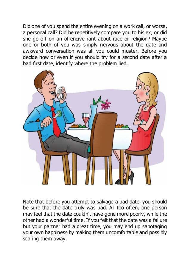 Getting a second date
