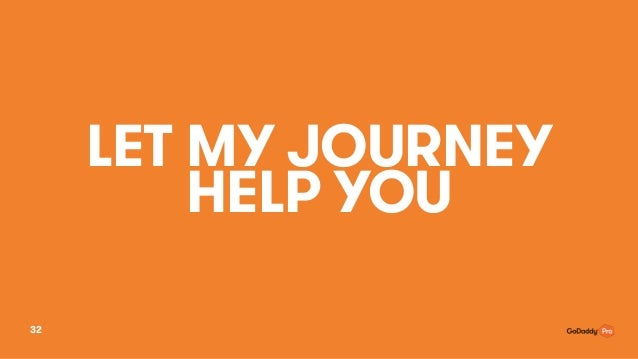 LET MY JOURNEY HELP YOU 32