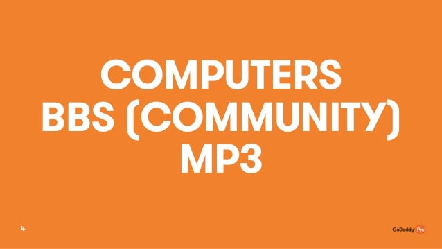 COMPUTERS BBS (COMMUNITY) MP3 4