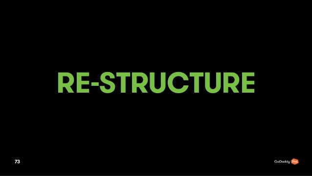 RE-STRUCTURE 73