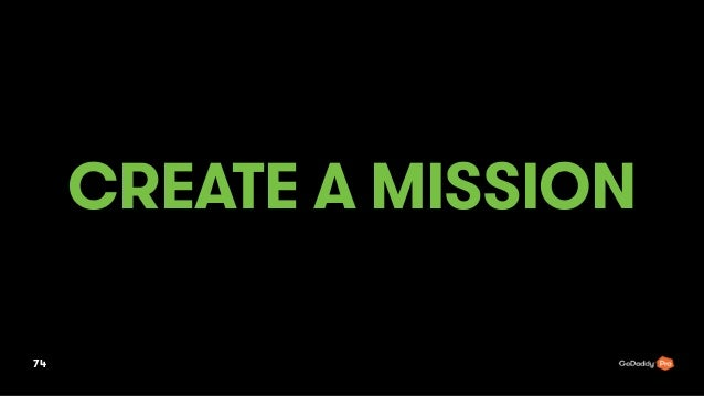 CREATE A MISSION 74