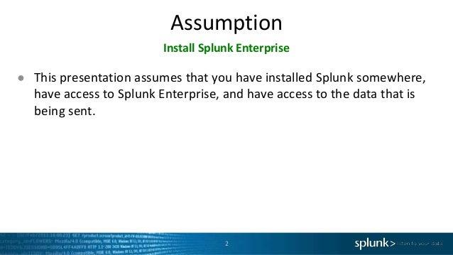 Getting Data into Splunk